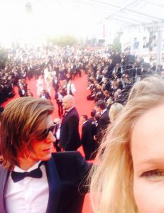 de rode loper in Cannes - 2014
