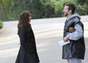 Jennifer Lawrence en Bradley Cooper in Silver Linings Playbook © 2012 - The Weinstein Company