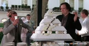 notting hill wedding cake