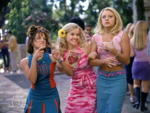 Reese Witherspoon, Jessica Cauffiel, and Alanna Ubach in Legally Blonde (2001) © 2001 Metro-Goldwyn-Mayer Studios Inc.
