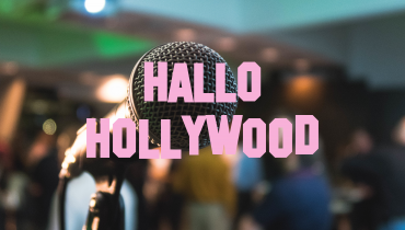 Gevalletje mediatraining; <i>Hallo Hollywood afl. 13</i>